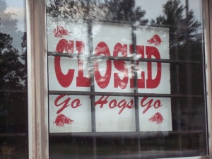 Closed Go Hogs Go